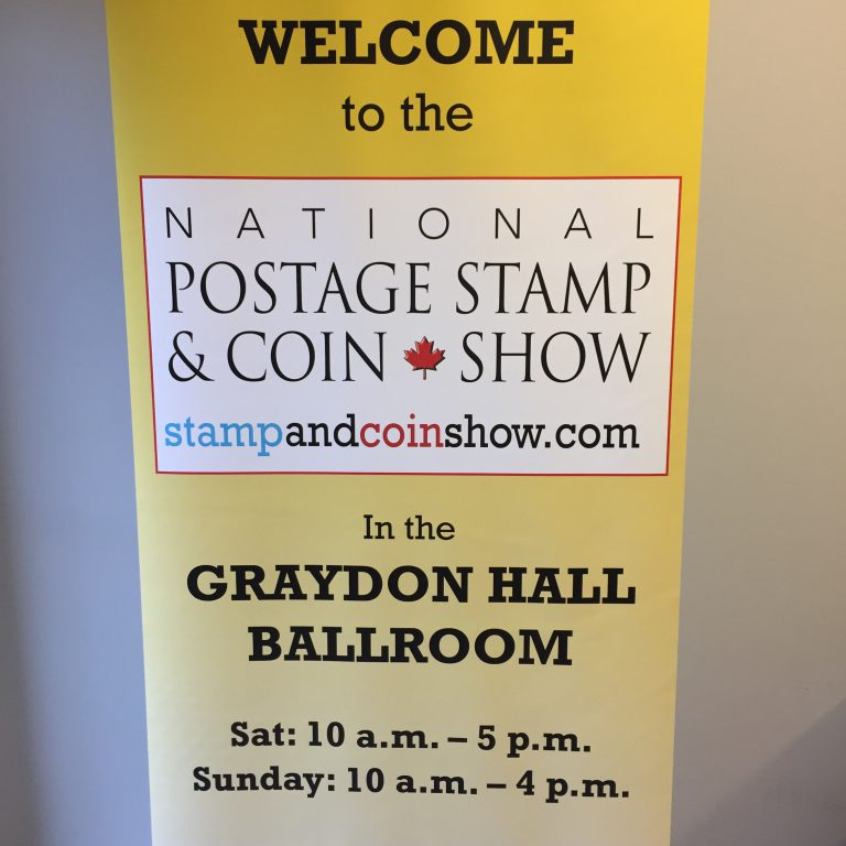 stamp and coin show toronto